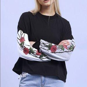 Rose Long Sleeve Top